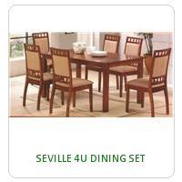 SEVILLE 4U DINING SET
